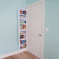 The Back Of The Door Cabinet (Full).  - Hammacher Schlemmer
