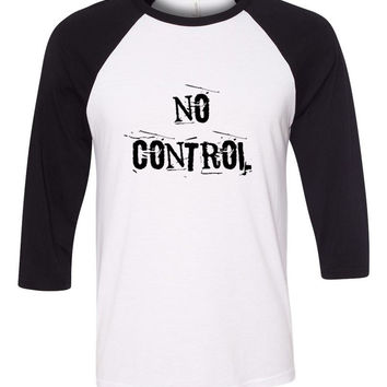 "One Direction ""No Control"" Baseball Tee"