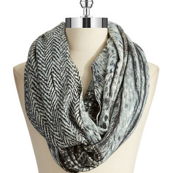 Michael Michael Kors Feathered Infinity Scarf