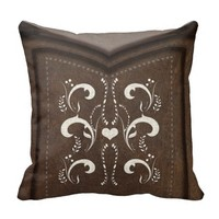 Cowgirl Boot Pillow