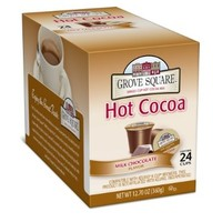 Grove Square Hot Cocoa, Milk Chocolate, 24 Count Single Serve Cup for Keurig K-Cup Brewers:Amazon:Grocery & Gourmet Food