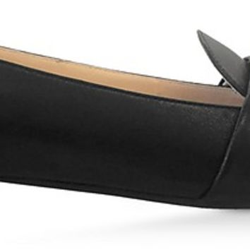 Charlotte Olympia Black Leather Loafers