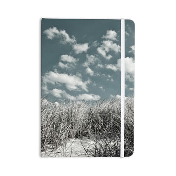 "Iris Lehnhardt ""Dunes"" Gray Blue Everything Notebook"