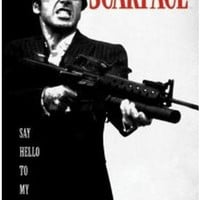 Scarface Movie Poster High Quality Of Poster Print Size 50x75cm C622