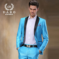 (Jacket+Pants) 2015 New Arrival Men Blazer Jacket sweety Color Brand Fashion Casual Slim Business Dress Suits Blazers DR8806-81