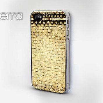 iPhone 4 iPhone 4s Brick Wall Print  iphone 5 cases  by TERRACASES