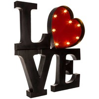 Black & Red LED Love Word Marquee | Hobby Lobby
