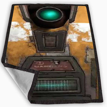 Claptrap 2 Blanket for Kids Blanket, Fleece Blanket Cute and Awesome Blanket for your bedding, Blanket fleece **