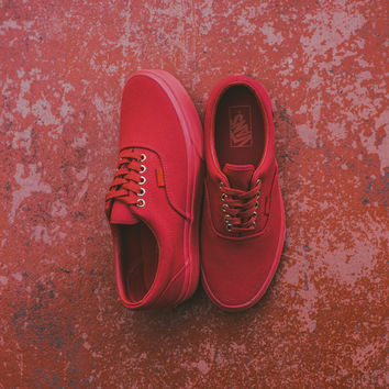 Vans Era (Gold Mono) - Crimson