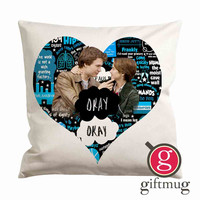 Love The Fault in Our Star Okay Okay Cushion Case / Pillow Case