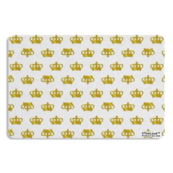 Gold Crowns AOP Placemat All Over Print by TooLoud