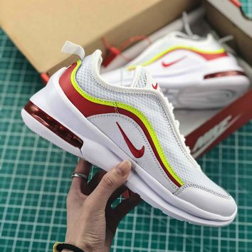 Nike Air Max 87 Og White Red Sport Running Shoes - Best Online Sale