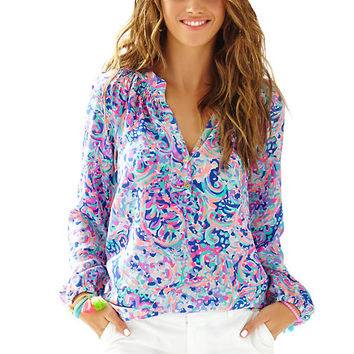 Elsa Top - La Playa - Lilly Pulitzer