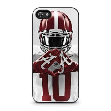 alabama tide bama football iphone 5 5s se case cover  number 1
