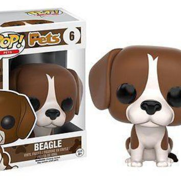 Funko Pop Pets: Beagle Dog Vinyl Figure