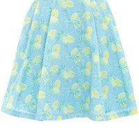 Oasis Floral Frocks | Multi Pineapple Full Skirt | Womens Fashion Clothing | Oasis Stores UK