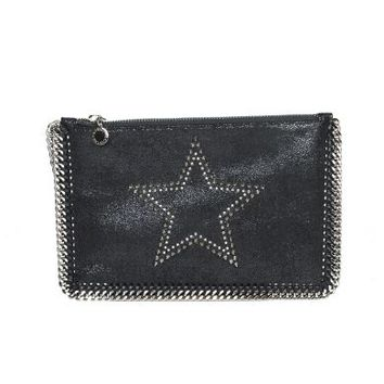 Stella McCartney Black Studded Star