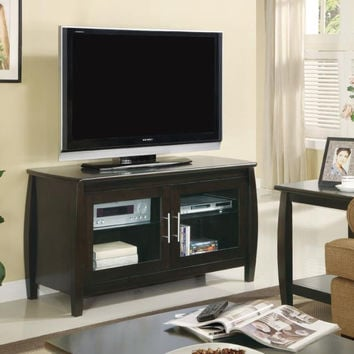 Coaster Fine Furniture Tv Console Cappuccino 700647