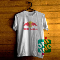 Red Bull Logo Tshirt For Men / Women Shirt Color Tees