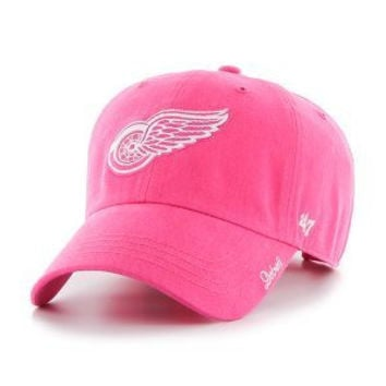 NHL Detroit Red Wings Magenta Miata Clean Up Adjustable Hat