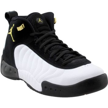 Jordan Jumpman Pro Black/Metallic Gold-White