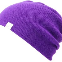 Coal FLT Purple Beanie