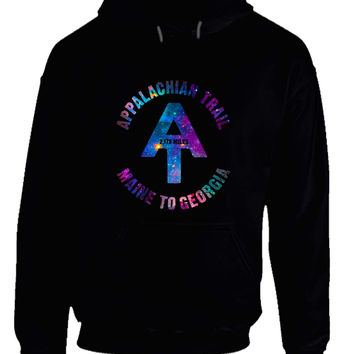 Appalachian Trail Maine To Georgia Space Hoodie