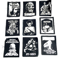 Vintage Horror Patches