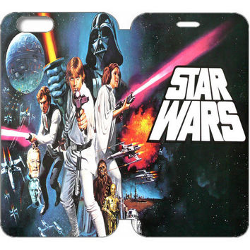 "Star Wars Wallet Case w/ Stand Flip Cover for iPhone 6/6s (4.7"")"