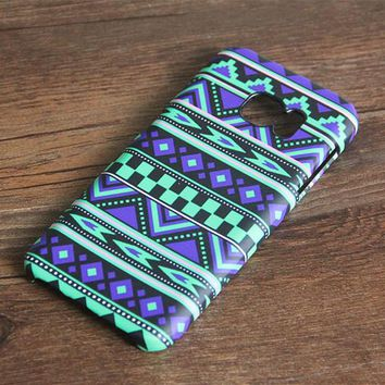 Violet Native Ethnic Galaxy S7 Edge S7 SE Case Galaxy S6 edge+ S5 S4 S3 Samsung Note 5/4/3/2 Cover S7-084lime