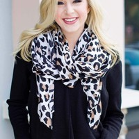Leopard Of Love Scarf