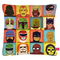Street Market — Ohh Deer - Heroes and Villains Cushion By Jack Teagle