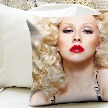 Christina Aguilera Pillow Cases
