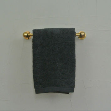 "8"" Solid Brass Hand Towel Bar"