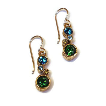 Patricia Locke Jewelry - Cassie Earrings in Pacific