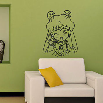 SAILOR MOON KIDS ROOM NURSERY WALL VINYL STICKER  DECALS ART MURAL M67