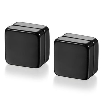 High Quality Magnetic Square Stud Earrings For Men
