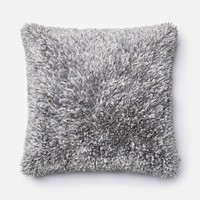 Loloi Grey Decorative Throw Pillow (P0045)