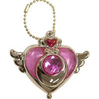 Sailor Moon Crisis Moon Mini Compact Key Chain