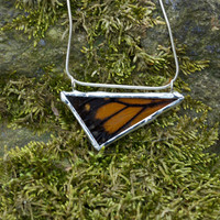 Real Monarch Necklace