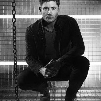 Supernatural Poster Standup 4inx6in black and white