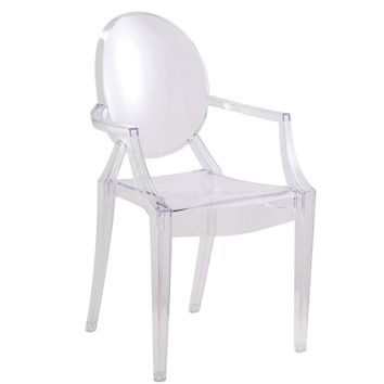 Clear Arm Chair, Clear