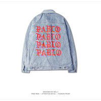 I Feel Like Pablo Denim Jacket