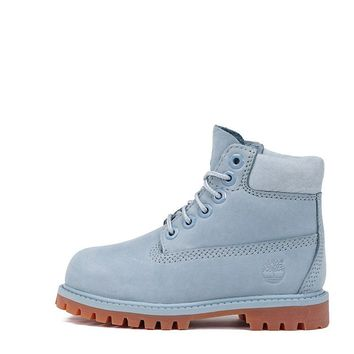 "AUGUAU LIMITED RELEASE 6"" PREMIUM WATERPROOF BOOT (TODDLER) - SKY BLUE"
