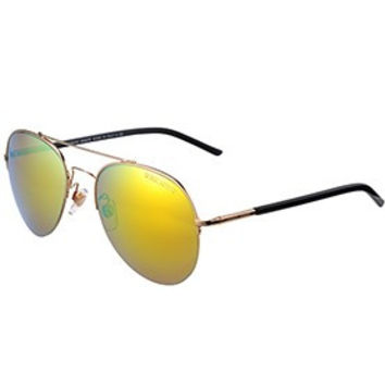 Giorgio Armani Aviator Yellow Lens Sunglasses 307872