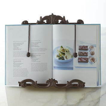 GG Collection Cookbook Holder - Antique Copper
