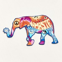 Groovy Elephant Patch