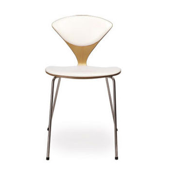 cherner stacking chair - upholstered seat & back