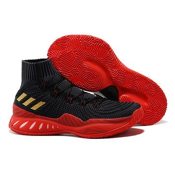 Adidas Performance Men S Crazy Explosive 2017 Primeknit Basketball-shoes - Black/red - Beauty Ticks