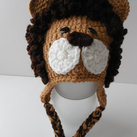 Lion Baby Animal Hat - Photo Prop